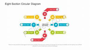 Free Eight Section Circular Diagram Powerpoint Template