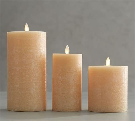 pottery barn candles premium flickering flameless candles pottery barn