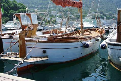 gozzo classico aprea vela aurica motore  vendita