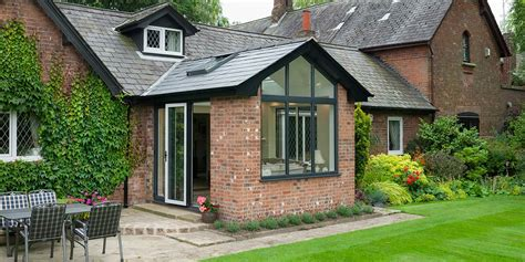 solid roof extension solid tiled roof extensions   star conservatories