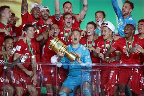 Lewandowski Passes 50-goal Mark As Bayern Win 20th German ...