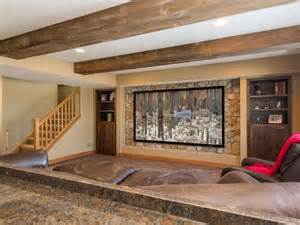 Family Room Makeover by Basement Design Styles Finished Basement Company