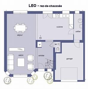 modele et plans dtt leo du constructeur maison dtt With plan de maison 100m2 9 constructeur maisons bioclimatiqueskokoon constructeurs