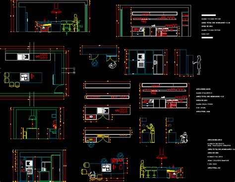 Functionality of the kitchen in AutoCAD   CAD (616.15 KB