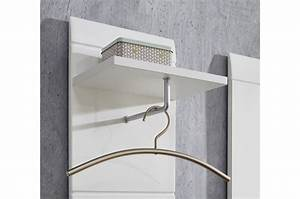 Meuble Entree Blanc : meubles pour hall d 39 entr e blanc brillant ~ Teatrodelosmanantiales.com Idées de Décoration