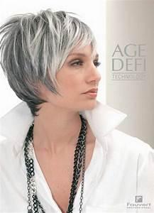 Coupe Courte Femme Cheveux Gris : coiffure cheveux blancs ~ Melissatoandfro.com Idées de Décoration