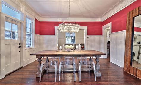 ghost chairs with wood table how to mix a farmhouse dining table with ghost chairs