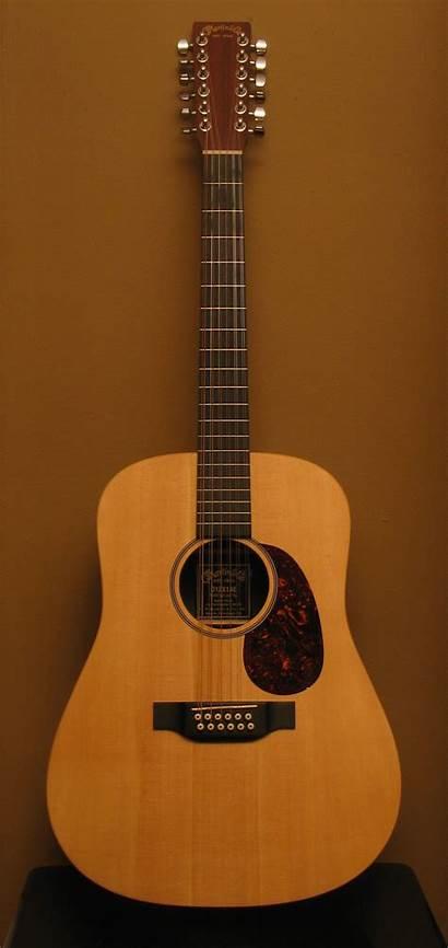 Guitar String Instrument Being Played 12string