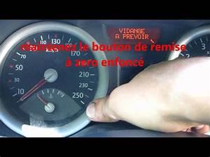 Remise A Zero Vidange Clio 3 : tuto r initialiser le compteur de vidange renault how to reset oil change indicator hd youtube ~ Gottalentnigeria.com Avis de Voitures