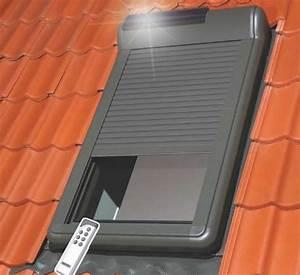 Volet Roulant Pour Velux : volet roulant solaire pour velux 114x118 ~ Dailycaller-alerts.com Idées de Décoration