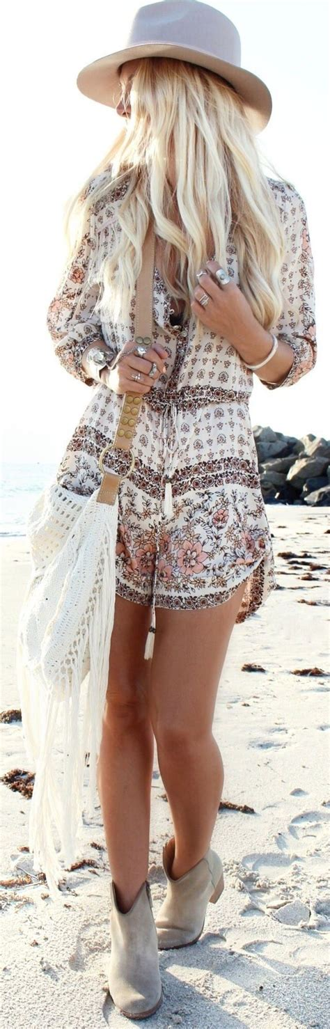 25 Summer Beach Outfits 2017 - Beach Outfit Ideas for Women | Strampler Hu00e4kelspitze und Stil