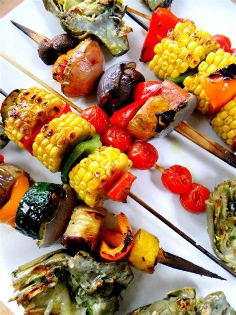 ricette spiedini  verdure foto  ricette pourfemme