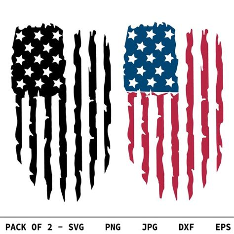 Black and white us usa distressed american flag svg dxf png and eps. Distressed American Flag SVG, USA Flag SVG, PNG, DXF ...