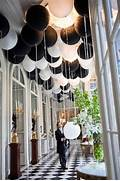 Table Decorations Black And White Theme Black And White Weddings Classy And With Plenty Of Room For