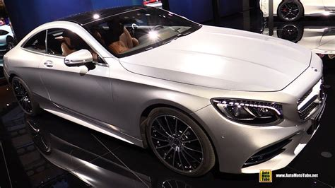 2018 Mercedes S560 4matic Coupe  Exterior And Interior