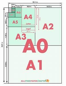 Standard Paper Sizes AllFreePaperCrafts com