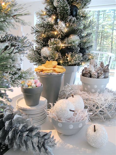 holiday decorating ideas   scandanavian styled fete