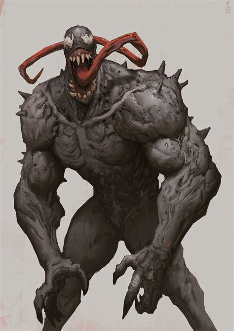 Venom By Edwarddelandreart On Deviantart