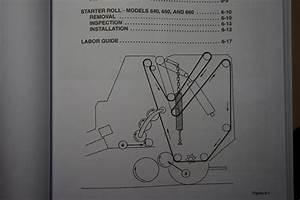 New Holland Round Baler 630 640 650 660 Service Workshop Repair Manual 400630040