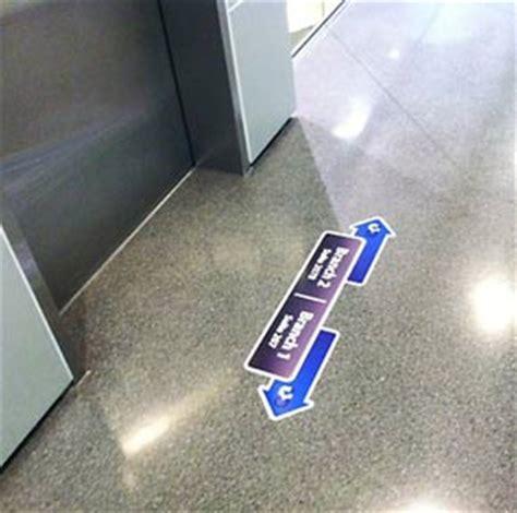 Vinyl floor decals & stickers   Flooring graphics   Orange