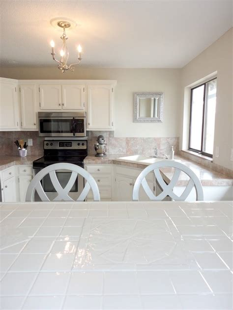 Kitchen Tile Countertops by Useful How To Paint Tile Countertops Step By