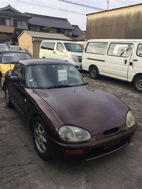 Suzuki Cappuccino For Sale Usa by Suzuki Cappuccino 1992 04 To Import To Usa Turbo