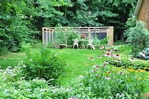 Gardeners, With, Kids, The, Vegetable, Garden, Fence