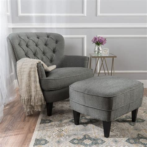 bedroom chair with ottoman best 25 chair and ottoman ideas on pinterest reading