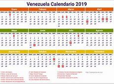 Calendario 2019 De Venezuela newspicturesxyz