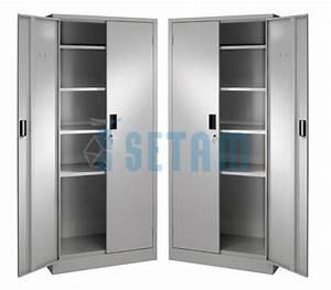 Armoire Qui Ferme A Clé : armoires m talliques pas cher armoire presta en lot de 2 ~ Edinachiropracticcenter.com Idées de Décoration