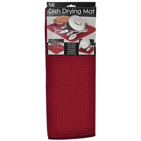 Kitchen Basics Dish Drying Mat Care by Kitchen Basics Dish Drying Mat Walmart