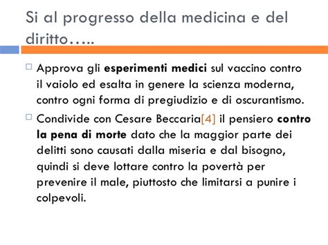 Cosmopolitismo Illuminista Giuseppe Parini