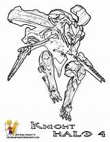 Halo Coloring Knight Pages Master Chief Elite Helmet Drawing Flood Reach Wars Printable Spartan Azcoloring Getcolorings Getdrawings Army Sketch Credit sketch template