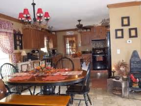 Primitive Kitchen Paint Ideas by Manufactured Home Decorating Ideas Primitive Country Style