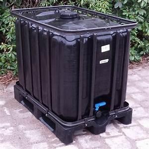 Regenwasser Zu Trinkwasser Aufbereiten : regen user black edition 600l neu ohne algen trinkwasser ~ Watch28wear.com Haus und Dekorationen