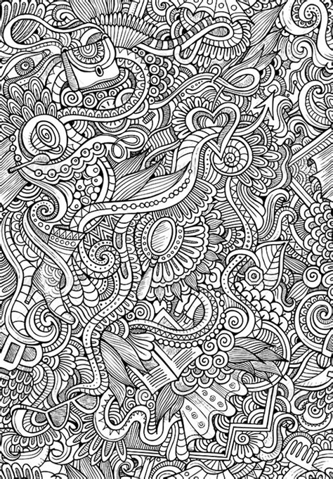 doodle patterns psd png vector eps format  design trends premium psd vector