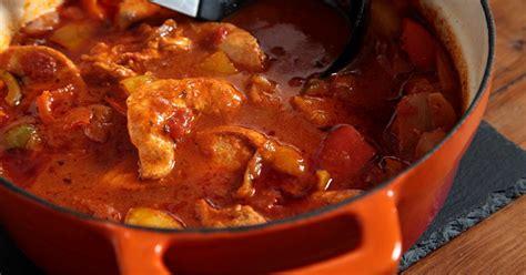 recette poulet aux poivrons  pommes de terre sauce