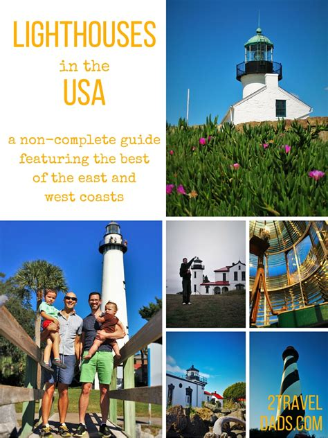 lighthouses in the usa a non complete guide to lighthouses in the usa