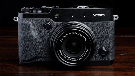 New Fujifilm X30 Camera Is An