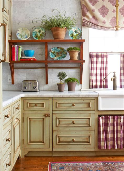 fashioned kitchen cabinets cozy kitchen with warm colors traditional home 3631