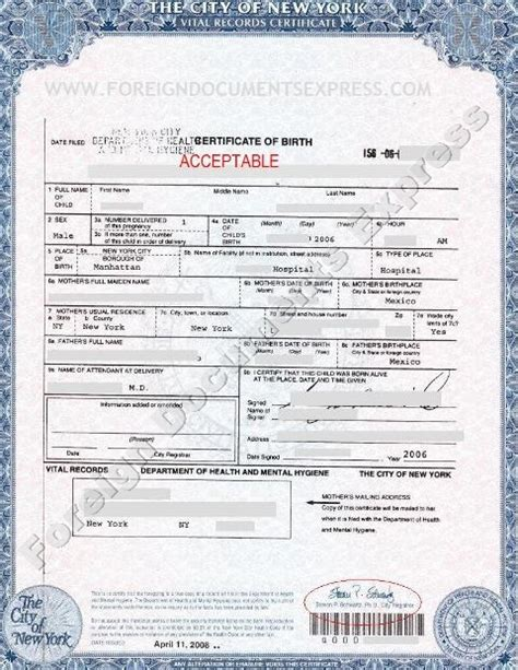 how do i get a long form birth certificate nyc birth records state criminal records