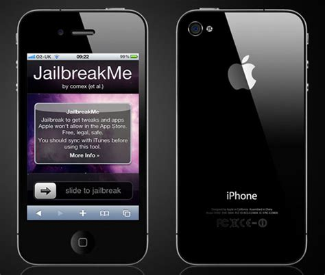 how to jailbreak a iphone 4 iphone 4 gets jailbroken with jailbreakme at apple store