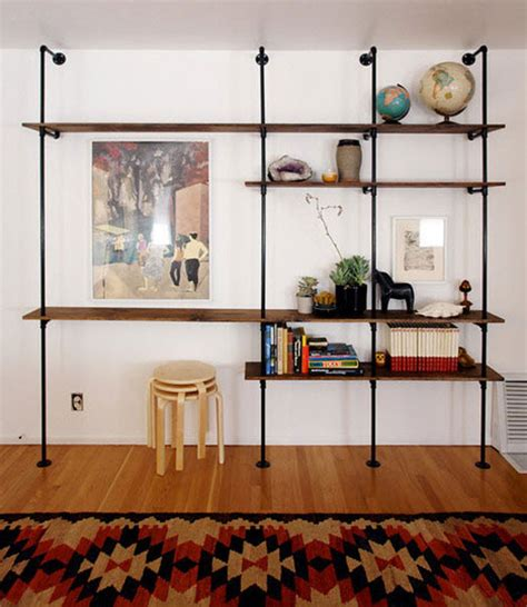 Diy Shelves From Plumbing Parts