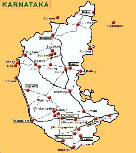 river map karnataka