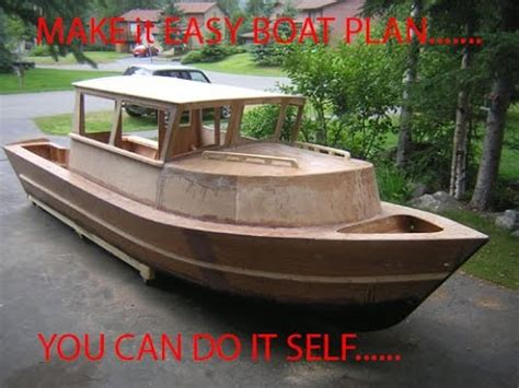 save money building   boats  boat plans review youtube