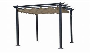 Pergola Bois En Kit Pas Cher : pergola opera aluminium toit r tractable 3x4m tonnelle ~ Edinachiropracticcenter.com Idées de Décoration