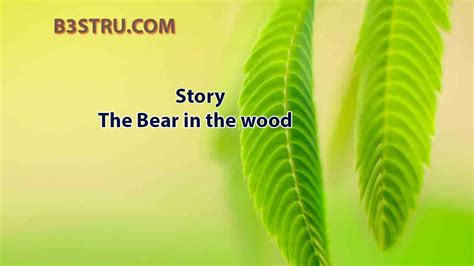 write  story   bear   wood bstru  bear   woodthe bear   wood storytwo