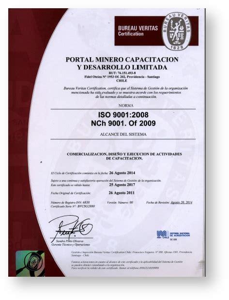 portal bureau veritas certificaciones capacitación comunidad portal minero