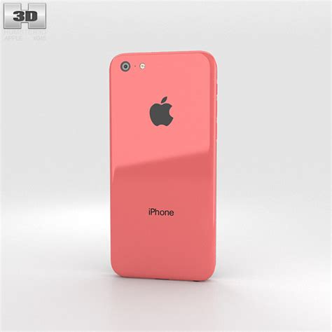 apple iphone 5c apple iphone 5c pink 3d model humster3d