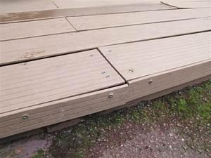 Fixation Lame De Terrasse Composite EVTOD